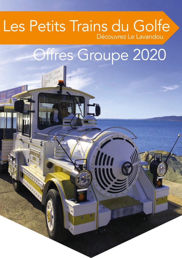Catalogue offre groupes pour Le Lavandou